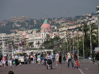 Strandpromenade in Nizza
